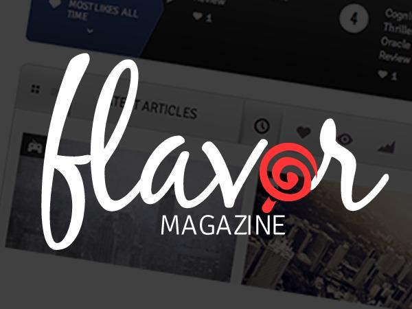 Flavor WordPress news theme