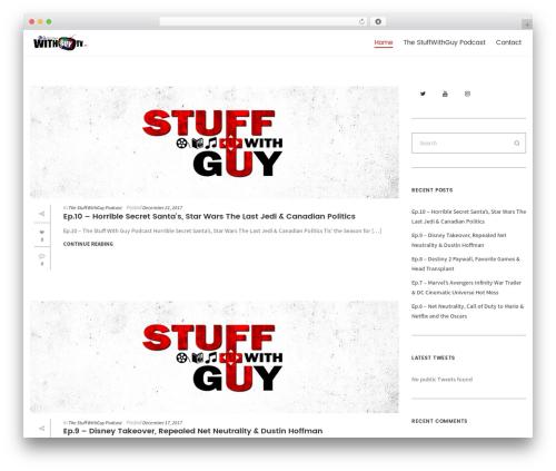 Folie WordPress theme - withguytv.com
