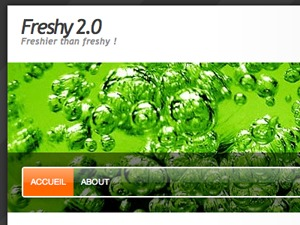 Freshy 2 WordPress template