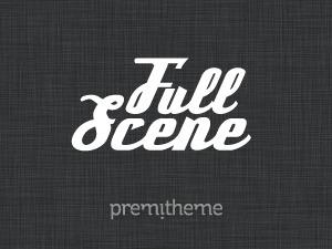 FullScene personal blog WordPress theme