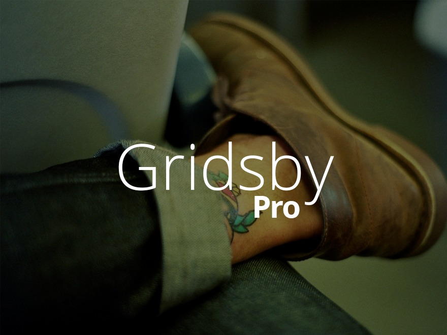 Gridsby Pro wallpapers WordPress theme