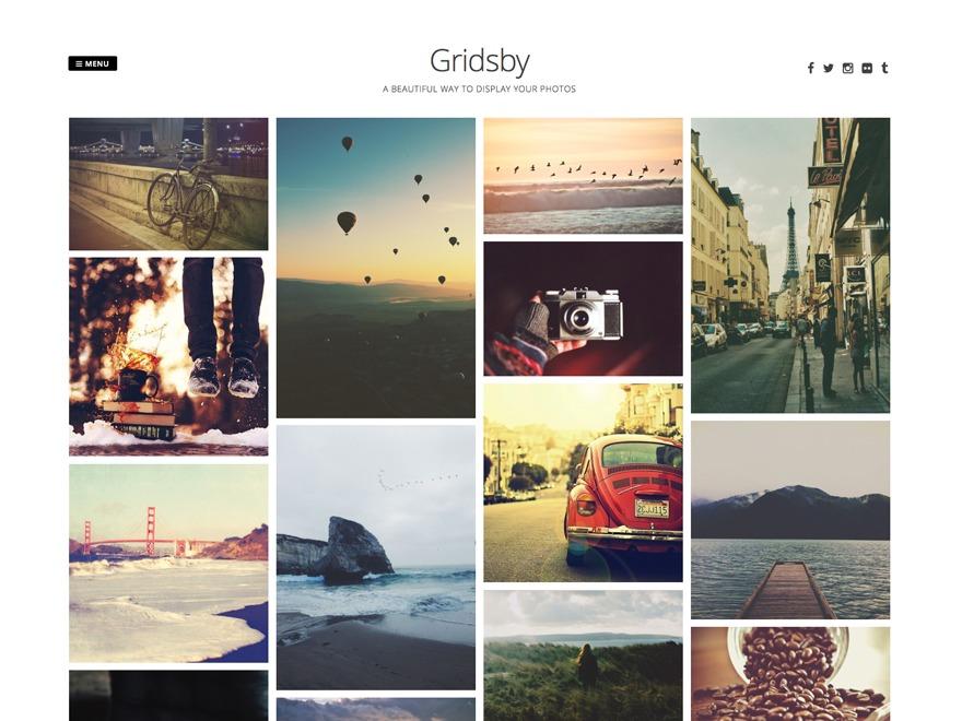 Gridsby WordPress theme image