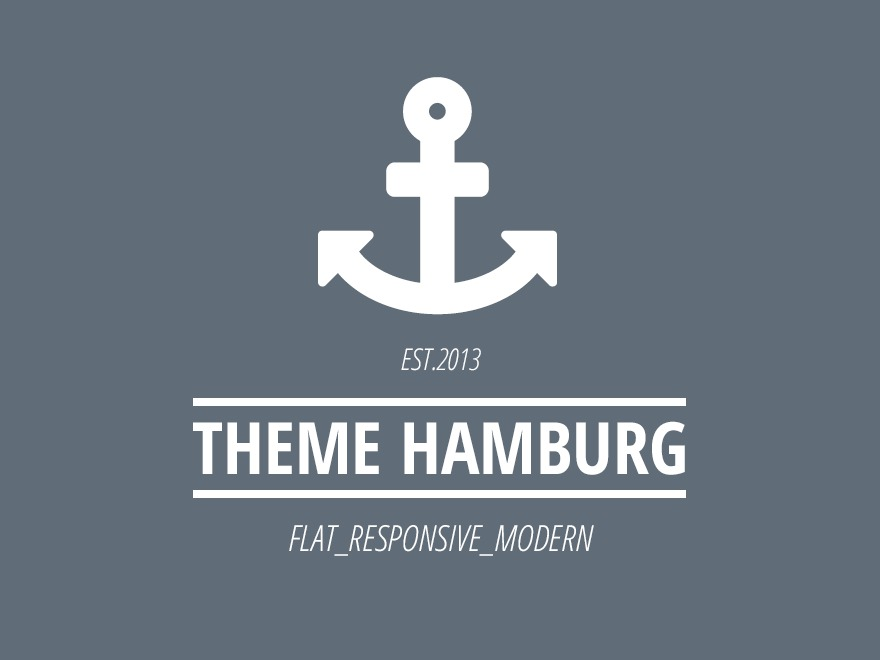 Hamburg premium WordPress theme