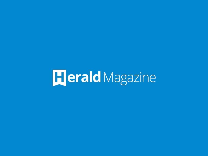 Herald WordPress news template