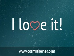 I Love It! best WordPress template