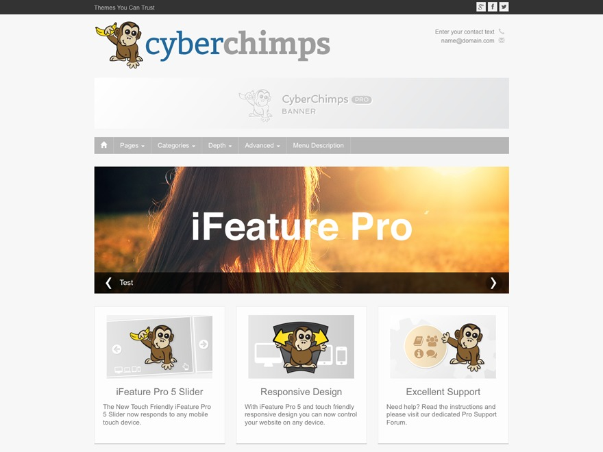 iFeature Pro 5 theme WordPress