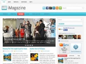 iMagazine WordPress news theme