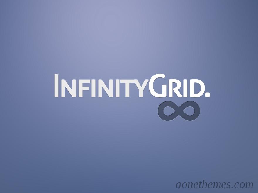 Infinitygrid WordPress blog theme