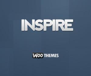 Inspire WordPress website template