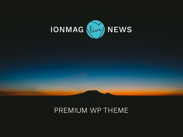 IonMag WordPress theme