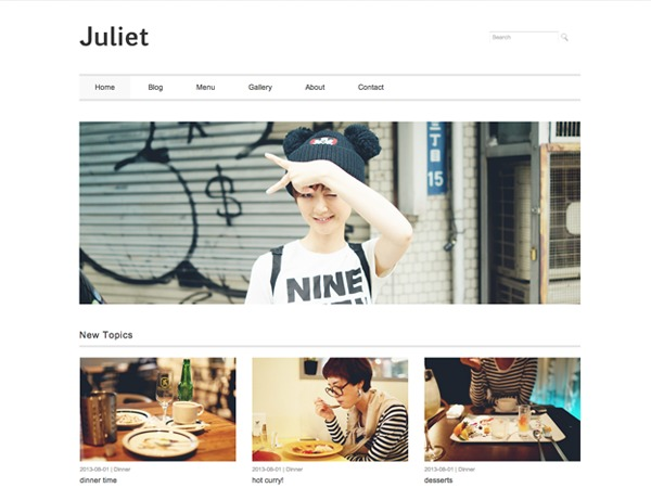 Juliet WordPress free download