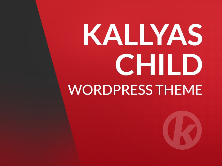 Kallyas Child Theme WP theme