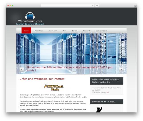 Klasik theme WordPress - wanastream.com