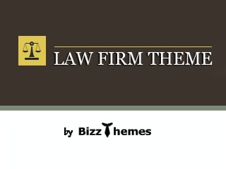 Law Firm business WordPress theme
