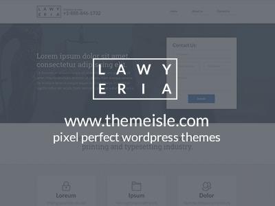 Lawyeria best WordPress theme