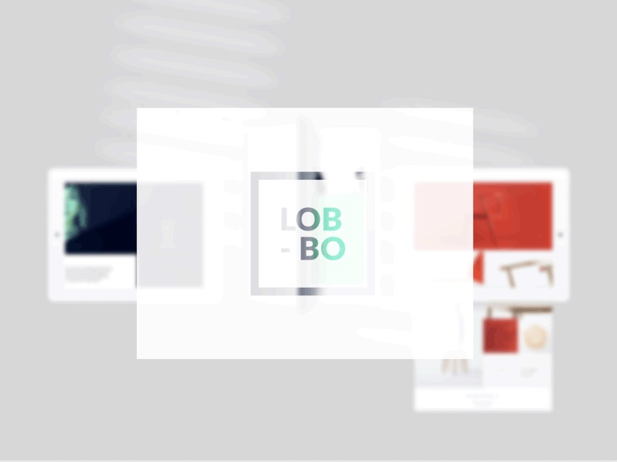 Lobo WordPress portfolio theme