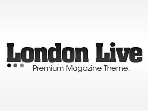 London Live newspaper WordPress theme