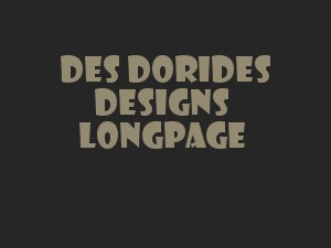 Longpage WordPress theme design