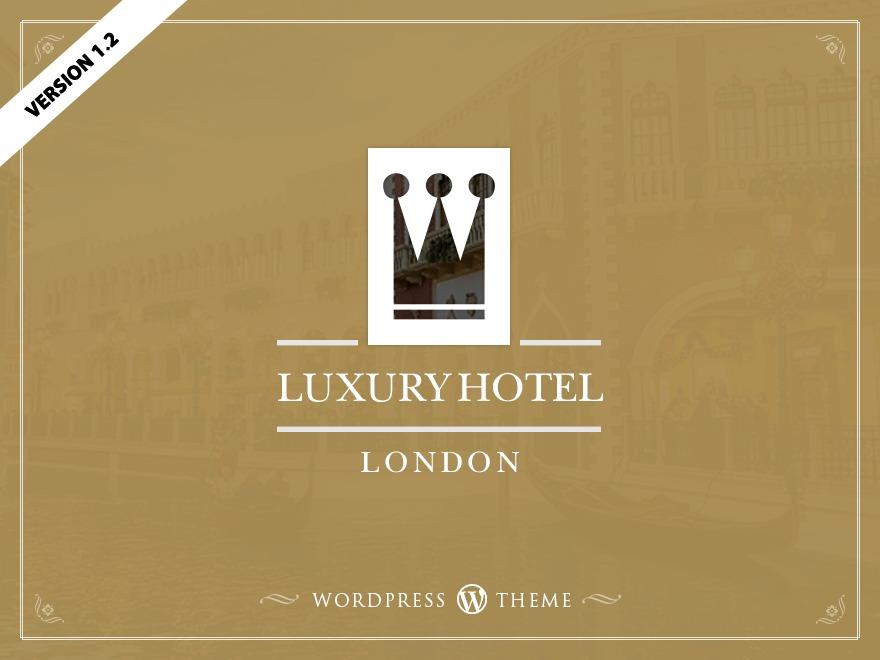 Luxury Hotel best restaurant WordPress theme