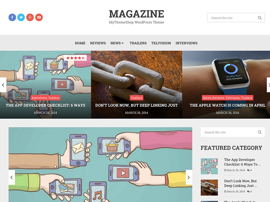 Magazine by MyThemeShop WordPress shop theme