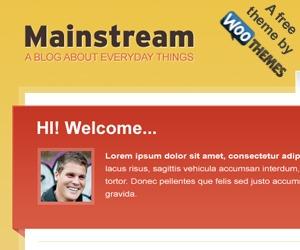 Mainstream best WordPress theme