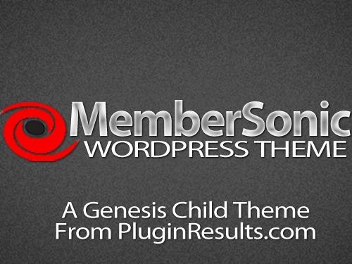 MemberSonic Theme best WordPress template