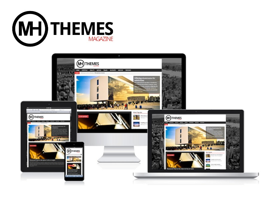 MH Magazine WordPress news template