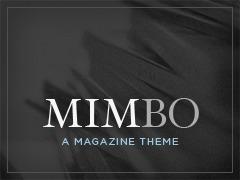 Mimbo WordPress news template