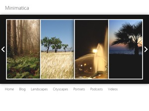 Minimatica WordPress video theme