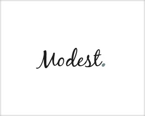 Modest template WordPress