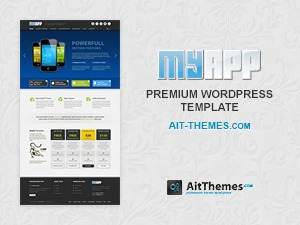 MyApp top WordPress theme