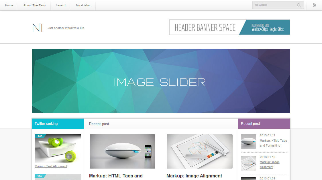 N1 template WordPress