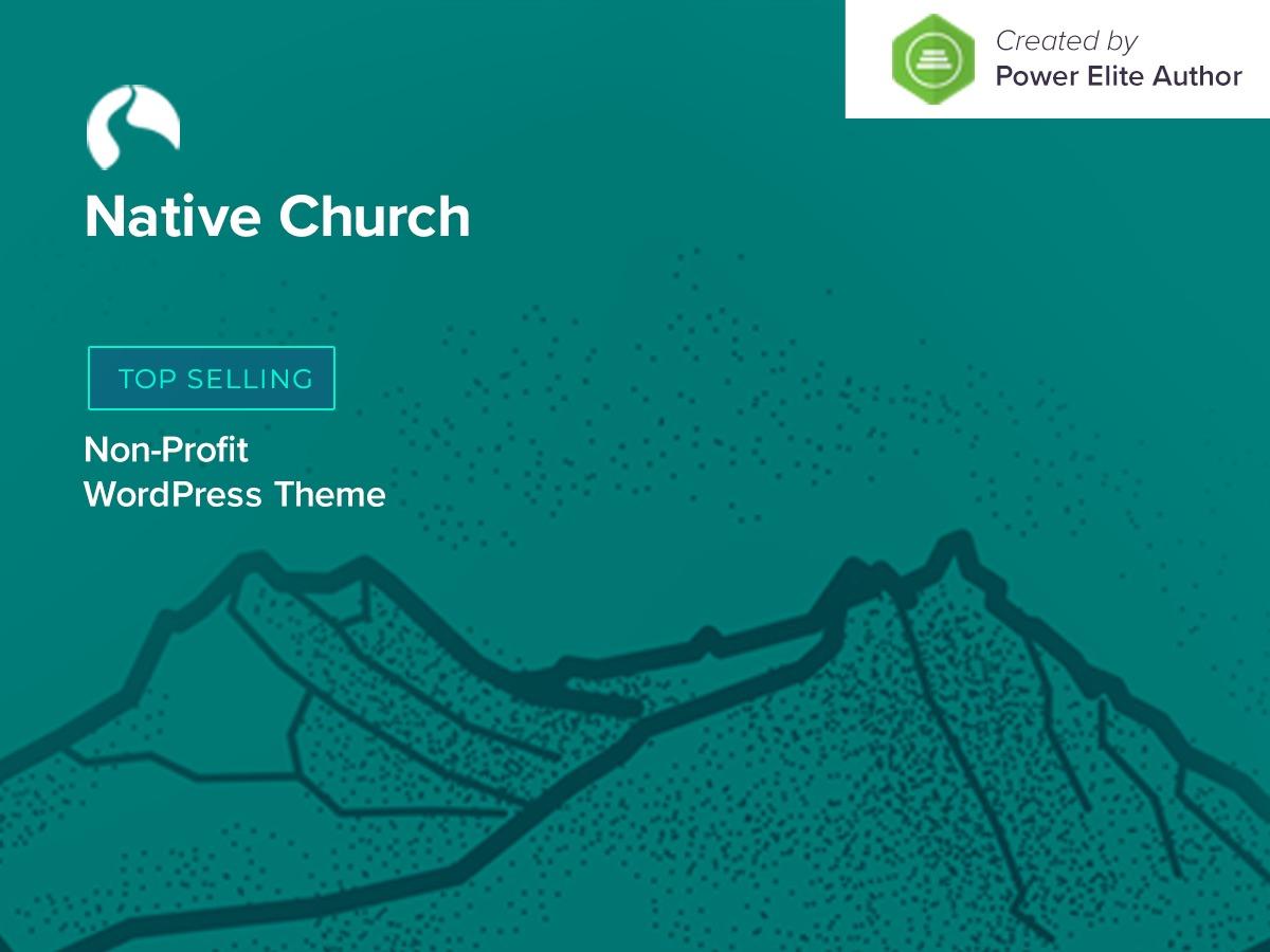 Native Church best WordPress template