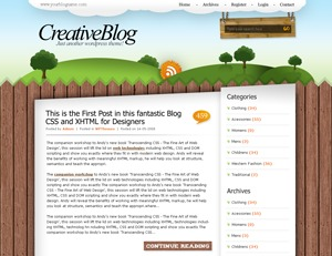 Nature_wdl theme WordPress