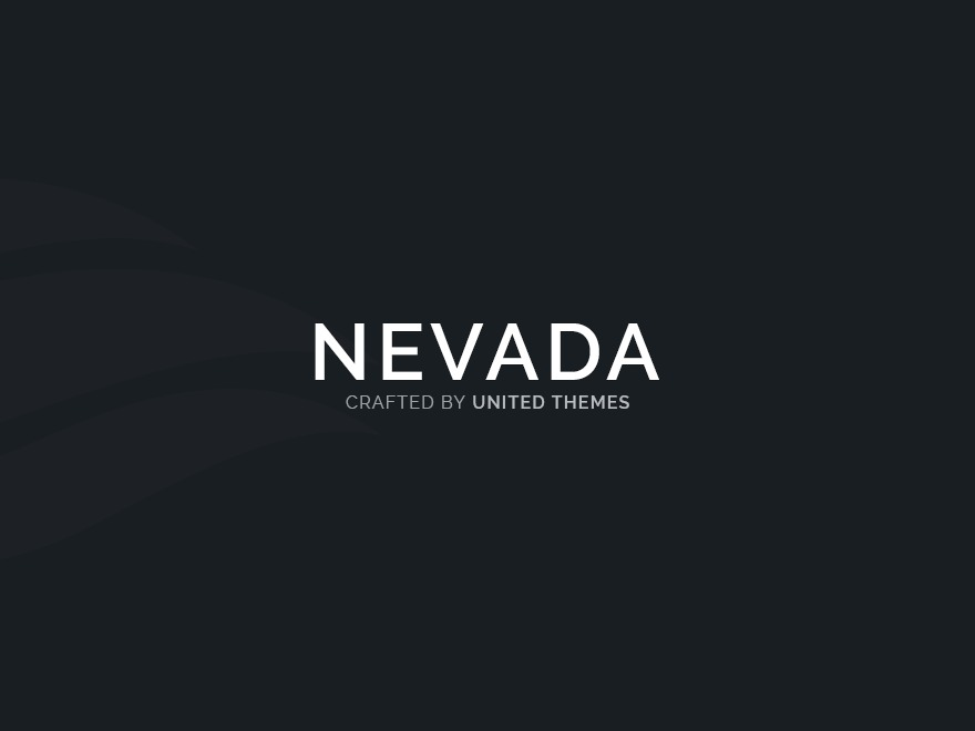 Nevada best portfolio WordPress theme