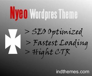 Nyeo Wordpress Theme WP theme