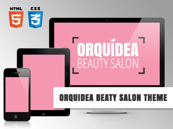 Orquidea Responsive Theme WordPress template