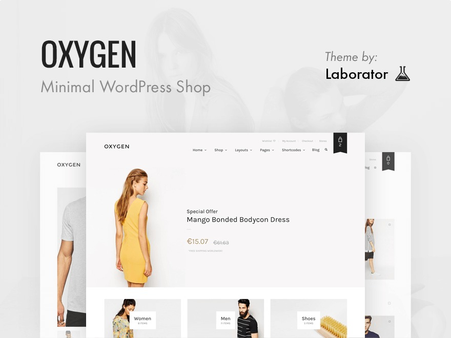 Oxygen best free WordPress theme