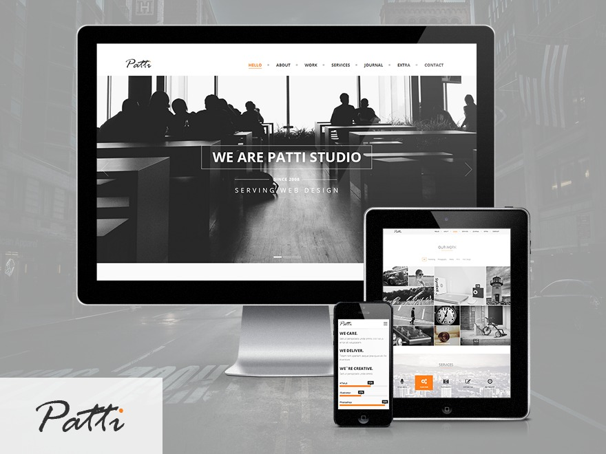Patti WordPress portfolio theme