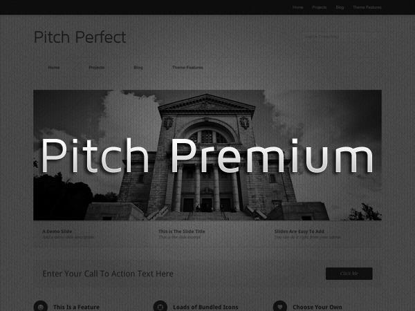 Pitch Premium company WordPress theme