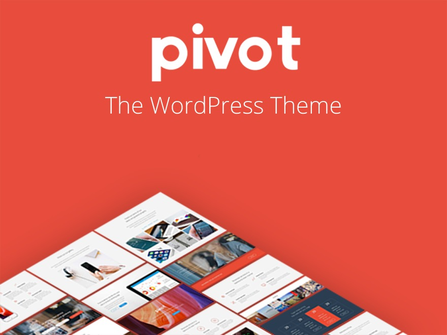 Pivot WordPress theme