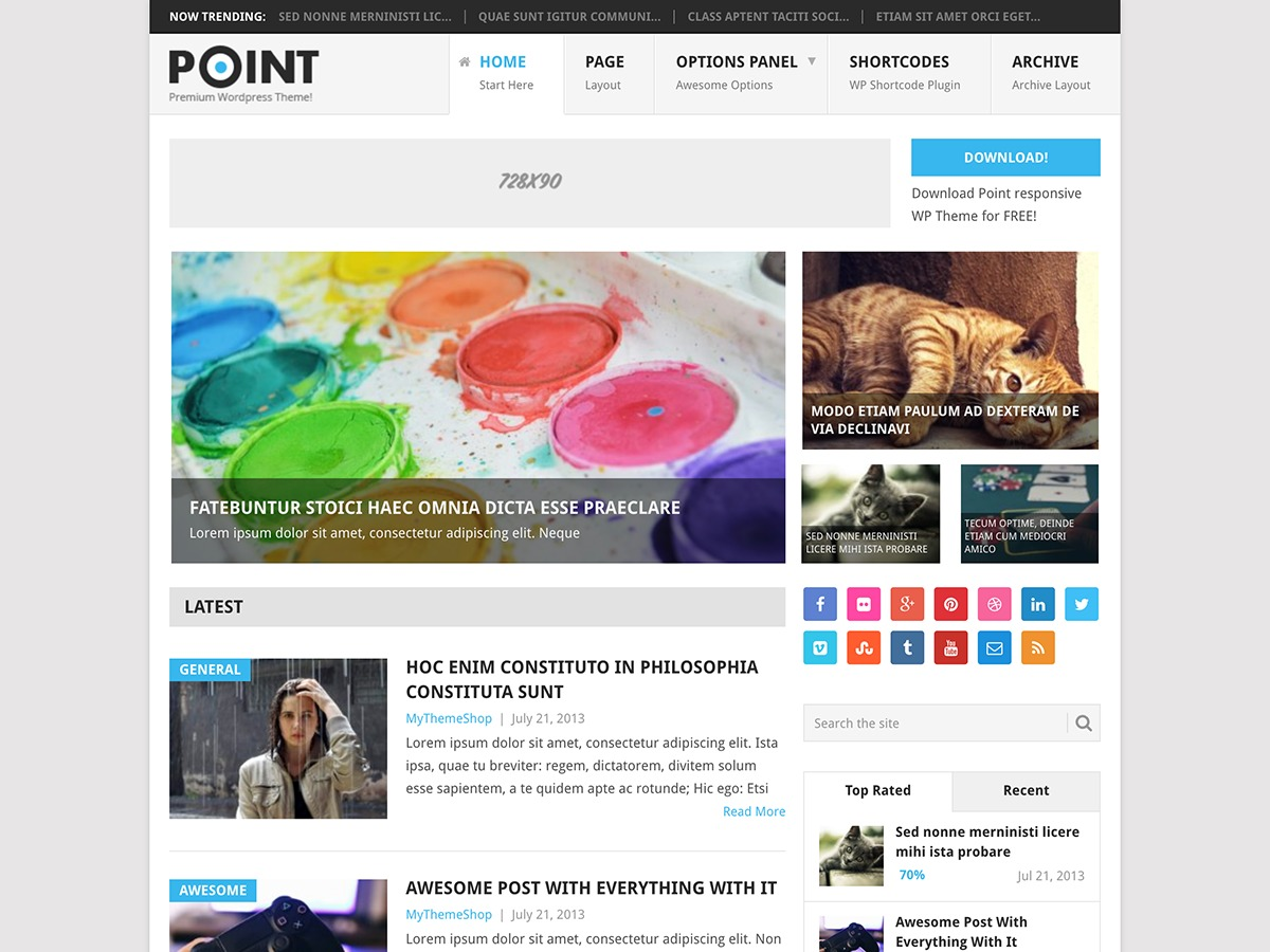 Point best WooCommerce theme