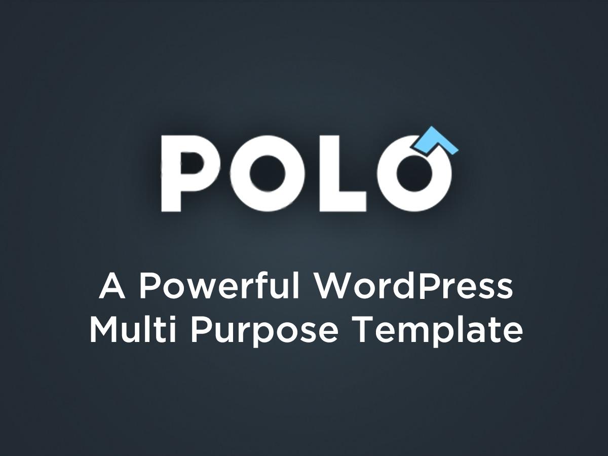 Polo theme WordPress