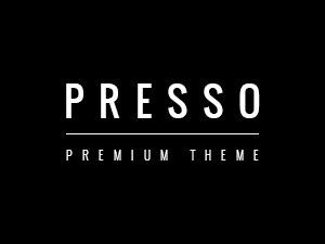 Presso WordPress news theme