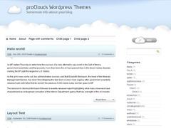 proClouds best WordPress theme