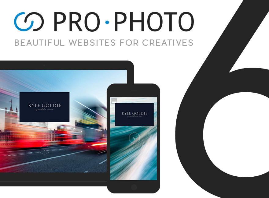 ProPhoto 6 WordPress template for photographers