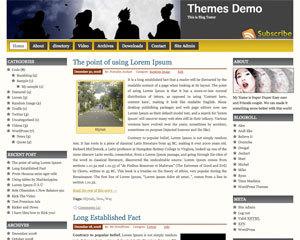 Prosumer WordPress template