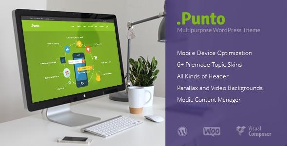 Punto WordPress theme