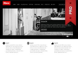 RboxPro company WordPress theme