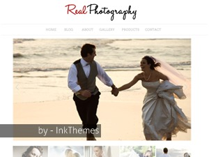 Real Photography Responsive WordPress template for photographers